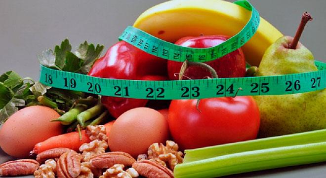 фрукты, овощи, орехи и метр