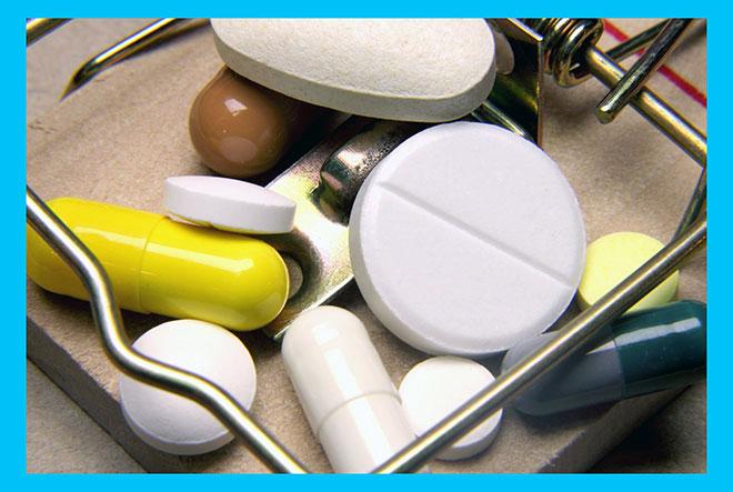мышеловка с таблетками