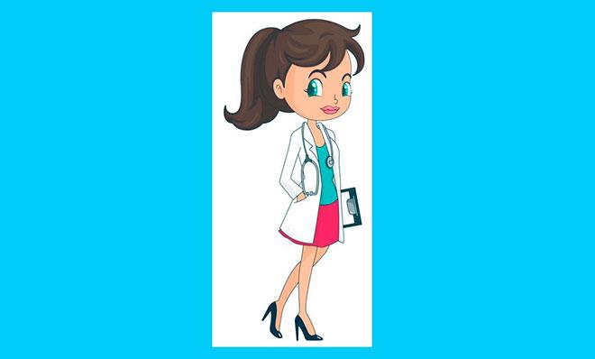 мультяшный доктор дает совет