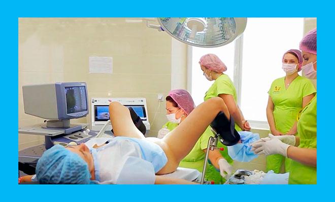 фото из операционной во время пункции фолликулов при эко