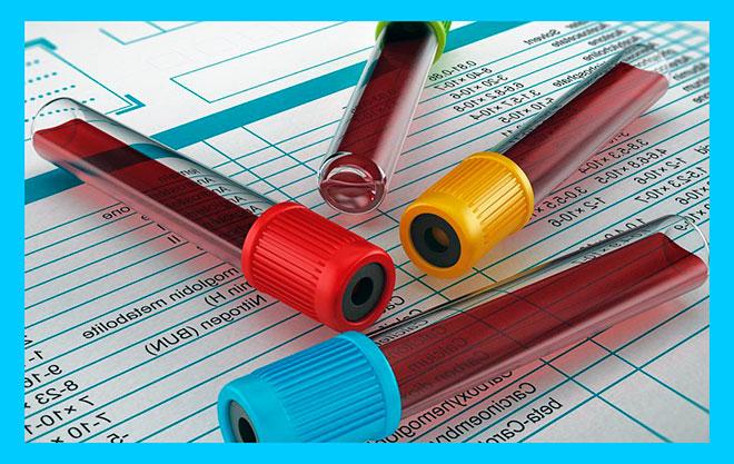 пробирки с кровью для анализов