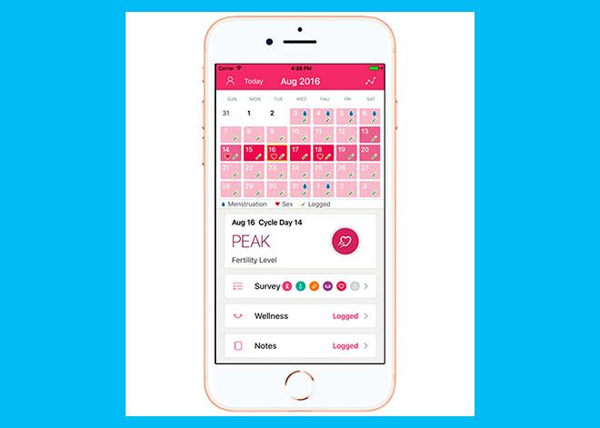 телефонное приложение для отслеживания менструального цикла