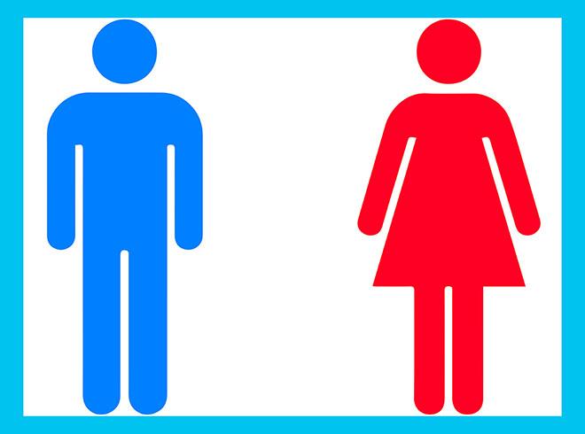 знак мужчины и женщины