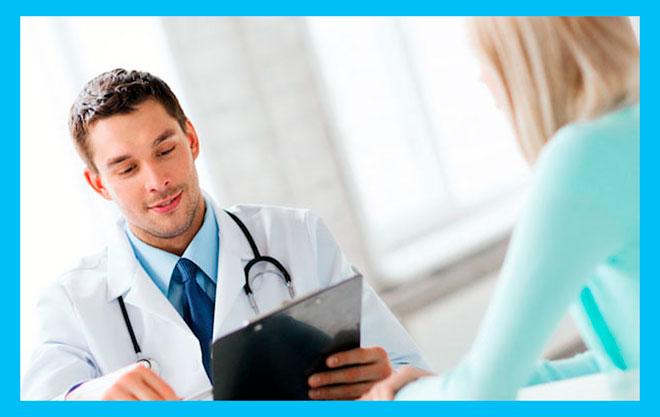 женщина пришла на прием к врачу гинекологу-эндокринологу