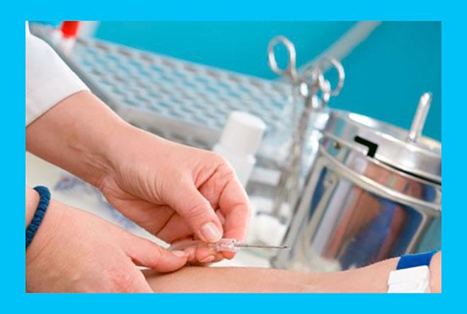 взятие крови из вены для анализа на хламидиоз методом пцр