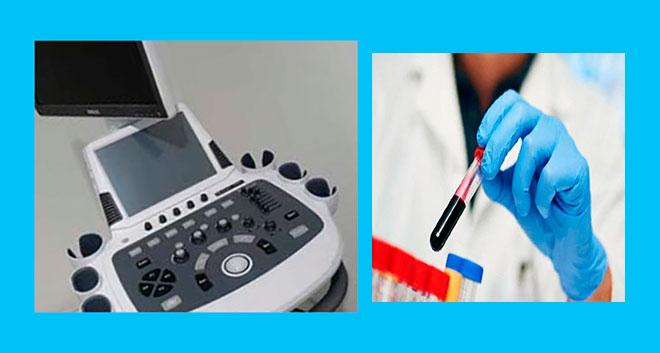 аппарат узи и лабораторные анализы крови