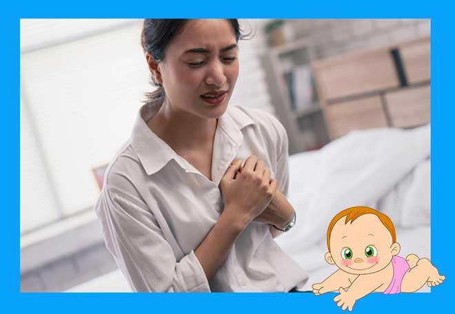 сильно болит грудь у женщины
