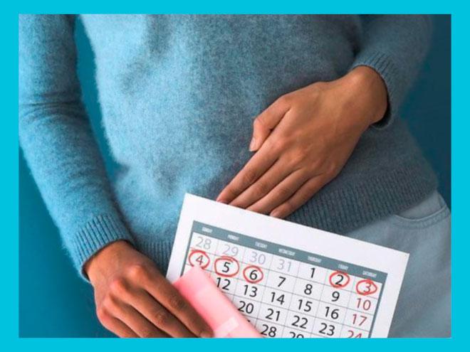 Месячные при беременности